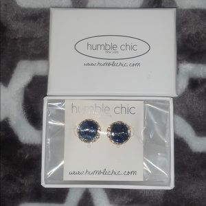 Humble Chic Earrings with box (Brand New)